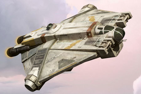 Is Ghost better than the Millennium Falcon?