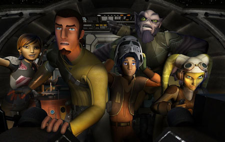 The cast of Star Wars Rebels
