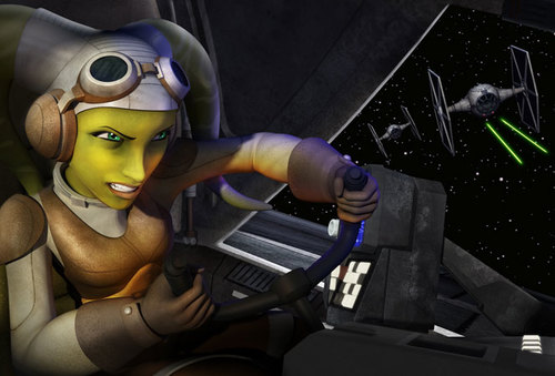 Hera is the real leader of the Ghost crew