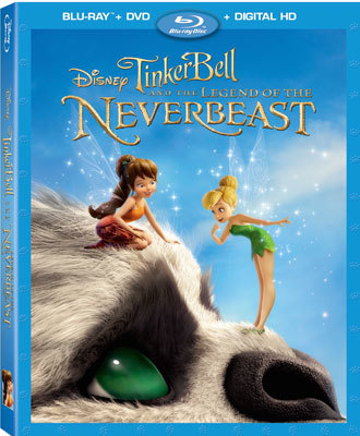 Tinker Bell and the Legend of the NeverBeast Blu-ray Cover
