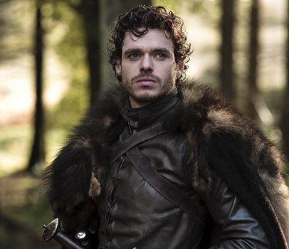 Richard on horseback in Game of Thrones