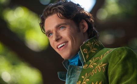 Richard Madden as the prince