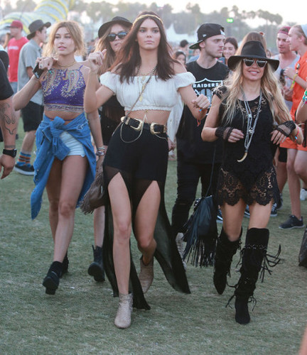 Kendall Jenner and Fergie