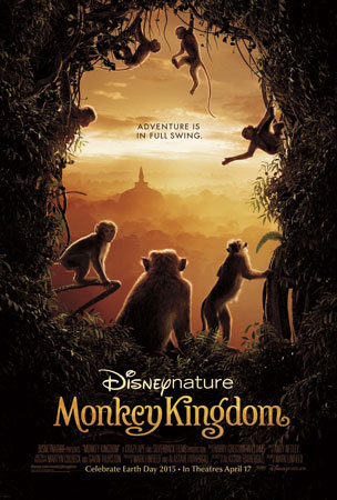 Disneynature Monkey Kingdom Movie Poster