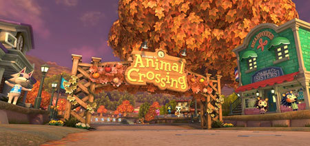 New course Animal Crossing