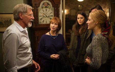 Adaline meets Ellis's dad (Harrison Ford)