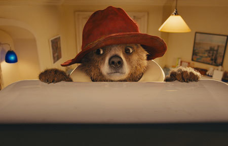 Paddington about to cause a messy accident