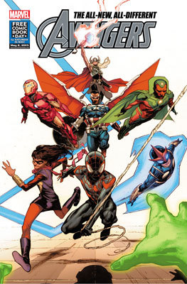 Avengers #1 Comic Book