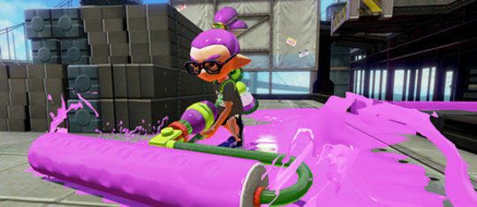 Feature splatoon weapon feat