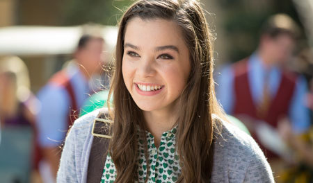 Hailee as college Freshman Emily