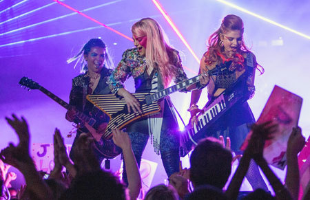 JEM and the Holograms performing
