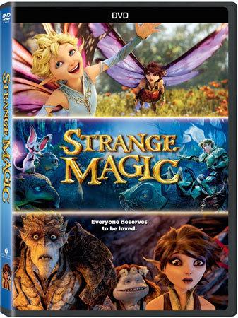 Strange Magic DVD Cover