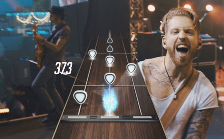 Wait until you see the list of songs in Guitar Hero Live!