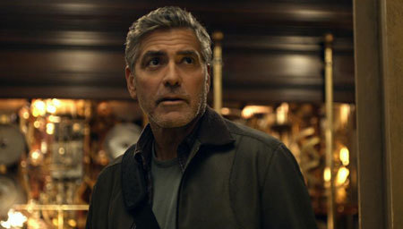 George Clooney as the inventor