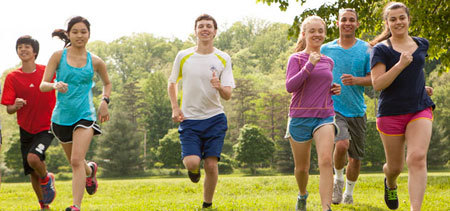 Running is great exercise!