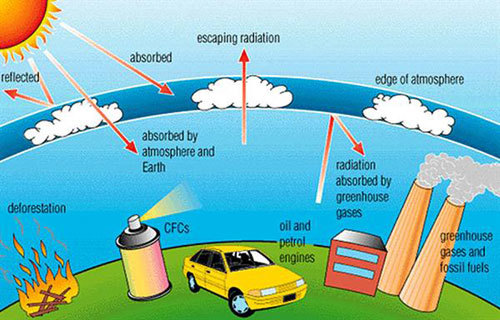 The Greenhouse Effect Graph