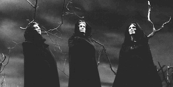 "Shakespeare's supernatural three witches were called the ""Weird Sisters"""