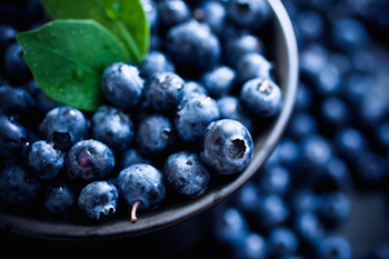 Eating blueberries can help you power up your brain!