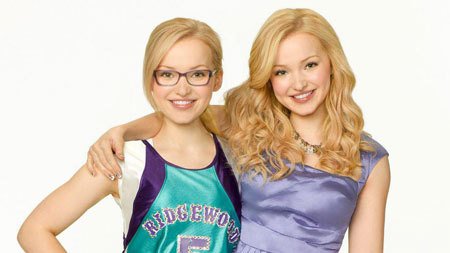 Dove as both Liv and Maddie