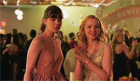 Dove as Liz with Megan at Homecoming dance