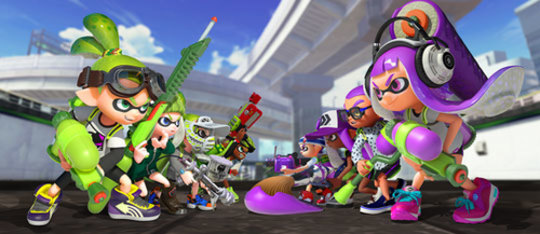 Get Inked With Splatoon™ for Wii U!