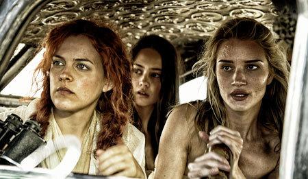 Three of Furiosa's girls