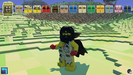 Customize your LEGO player