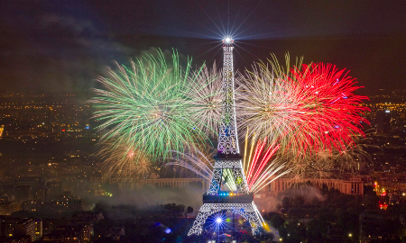 Bastille Day in Paris