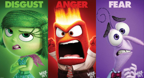 Disgust, Anger and Fear Posters