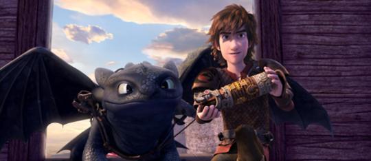 Netflix Original Series! Dragons Race to the Edge
