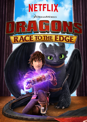 Netflix Original Series Dragons Race to the Edge premieres June 26th 2015