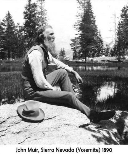 John Muir was the founder of The Sierra Club