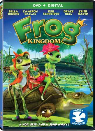 Frog Kingdom DVD Box Art