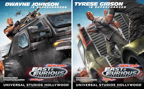Dwayne and Tyrese are Supercharged!