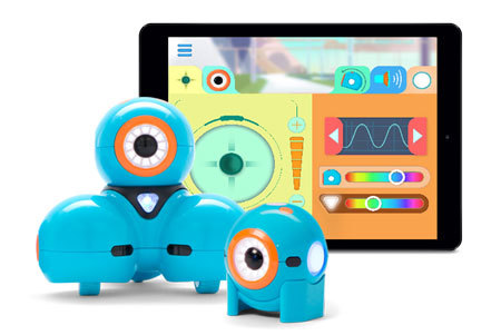 Dash and Dot, from Wonder Workshop
