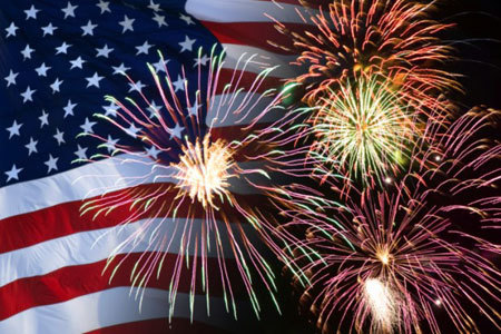Fireworks are a huge part of July 4th Celebrations