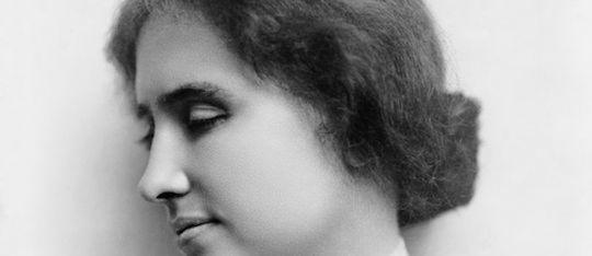 Helen Keller led an inspiring life!