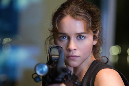 Emilia Clarke as Sarah Connor