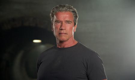 Arnold Schwarzenegger as the older Terminator4