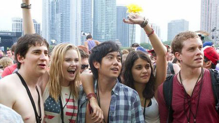 The time travelers at Lollapalooza