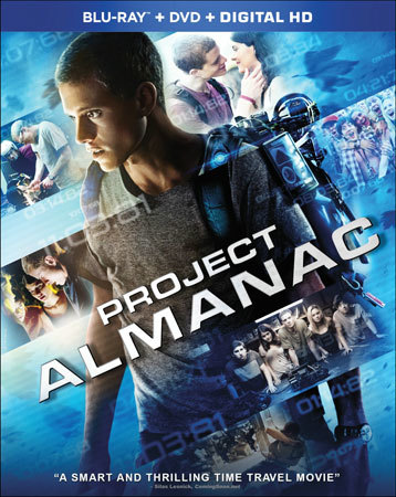 Project Almanac Blu-ray Cover