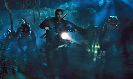 On the way to fight Indominus Rex