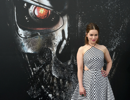 Emilia Clarke at the Terminator Genisys premiere