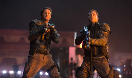 John Connor with Kyle Reese