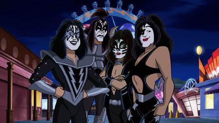 KISS Band group shot