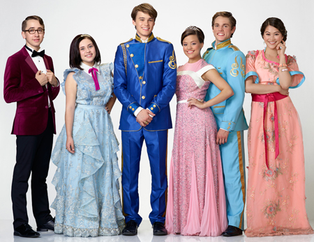 Prince Ben (Mitchell) and his court