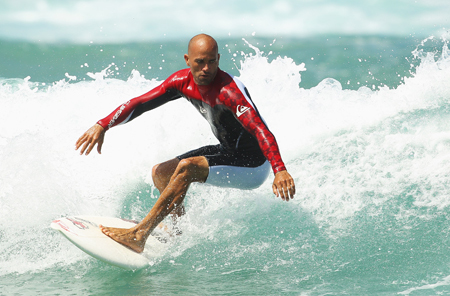 Learn all about surfing superstar Kelly Slater!