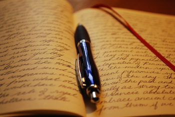 Keeping a diary can help you handle your emotions