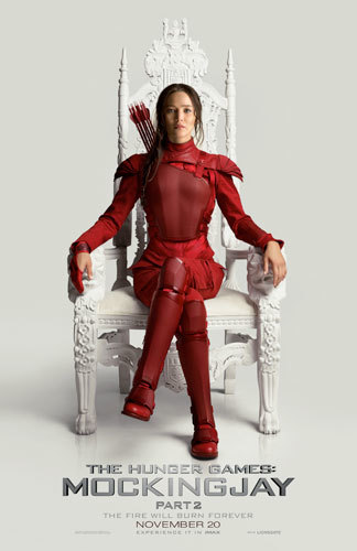 Katniss Mockingjay Part 2 Poster