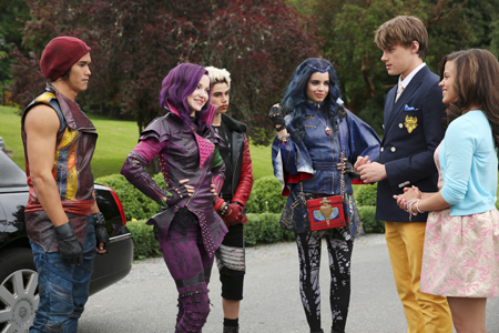 Prince Ben meets the Descendants